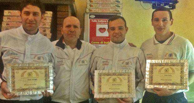 diploma attestato da pizzaiolo professionista