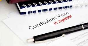 Curriculum vitae in inglese