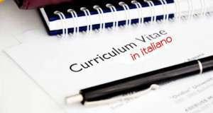 Esempi di curriculum vitae in italiano