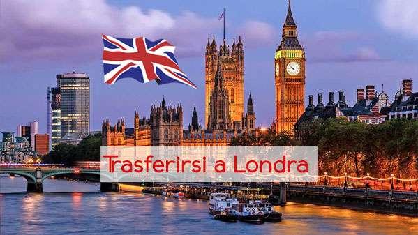 Trasferirsi in Inghilterra e lavorare a Londra
