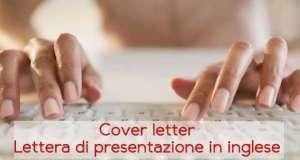 Esempi e modelli di lettera di presentazione in inglese
