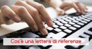 La lettera di referenze