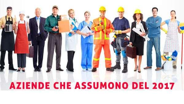 Le aziende che assumono in Italia